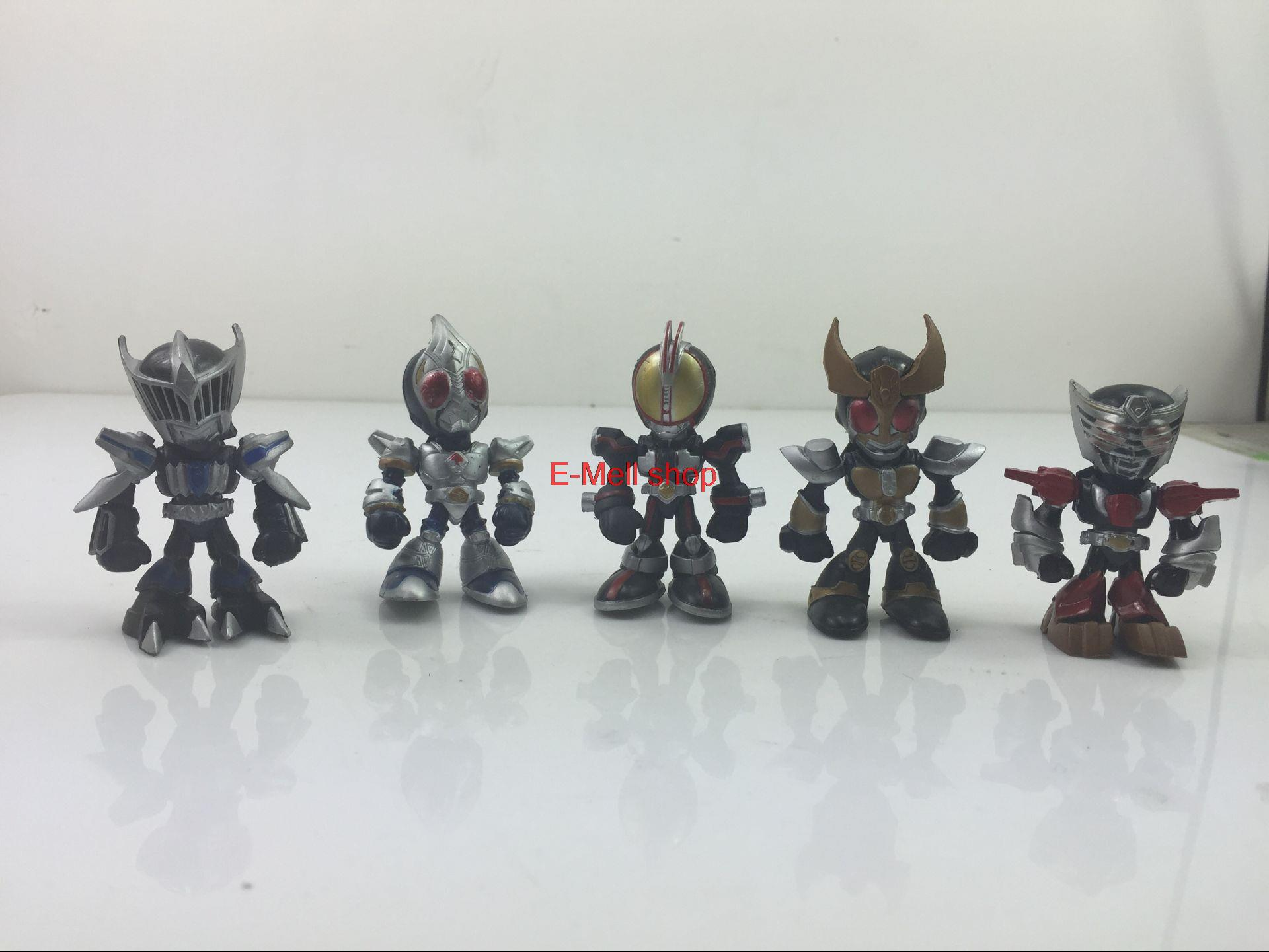 ORZ Free Shipping Original model Banpresto Japan Anime Masked Rider Kamen Rider Black PVC Action Figure Toys 5cm 59pcs/set 100% original banpresto internal structure collection figure masked rider 1