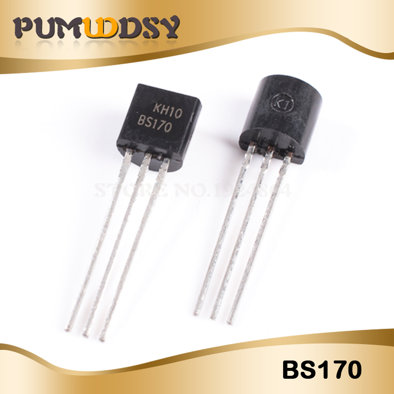 10pcs/lot Free Shipping BS170 TO-92 MOSFET N-CH 60V 500MA Best Quality IC