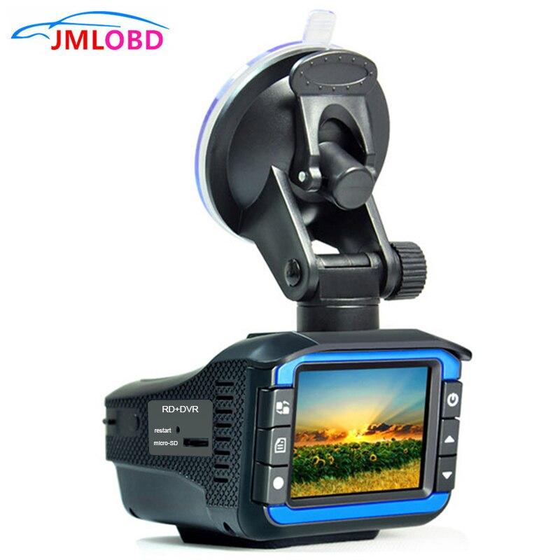 Portable Auto Radar Detectors with DVR Dash Cam Vehicle Anti Police Speed Control Safety Voice Alarm 2 in 1 Radar Detection