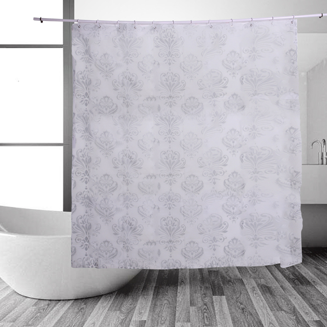 Bthroom Products PEVA Bathroom Shower Curtains Waterproof Bath ...