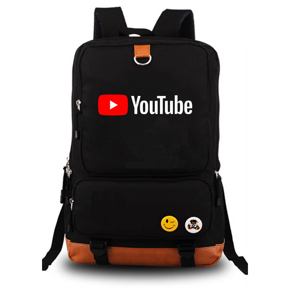 YouTube Backpack student school bag Notebook backpack Leisure Daily backpack