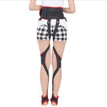 يوم وليلة corretor de postura الساق ضمادة يمكن المشي بحرية الطفل الكبار مصحح O/X نوع الساقين تصحيح المتاحة طوال اليوم