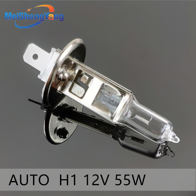 H1 55W 12V Fog Lights Halogen Bulb High Power Car