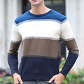 2016 Autumn Winter High Quality Casual Sweater Men Pullovers Brand Knitting Long Sleeve Slim Fit Knitwear Sweaters