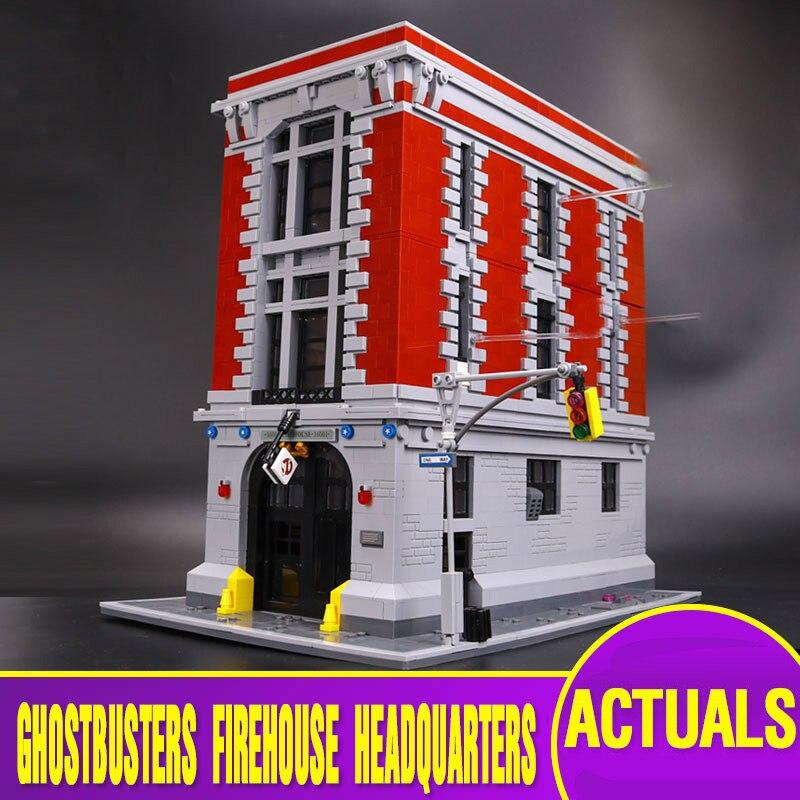 L модели совместимы с Lego l16001 4705 шт. Охотники за привидениями Модели Building Наборы Конструкторы Игрушечные лошадки хобби для Обувь для мальчико