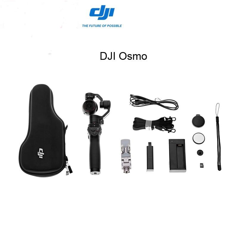 Free Gifts !Original DJI Osmo 3 Axis Handheld Gimbal 4K Camera Gimbal Aerial Photography Gimbal Stabilizer DHL EMS Free
