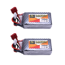 Free Shipping 11.1V 1500Mah 3S 40C XT60/T Plug Original Power 2pcs Lithium LiPo Battery Set For RC Car Airplane Helicopter Drop