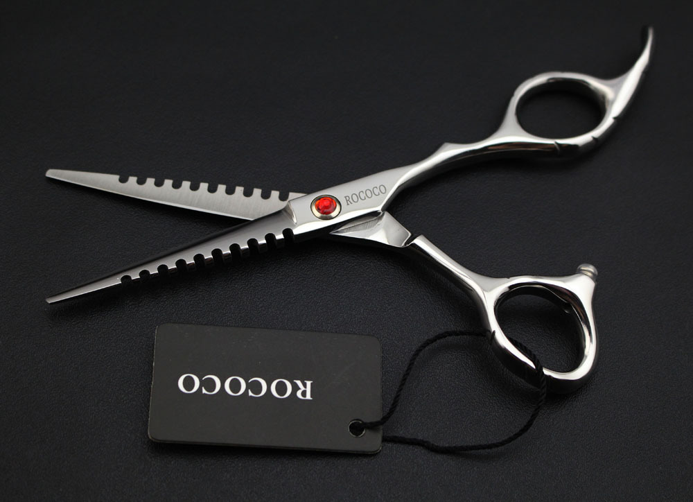 5.5inch hair cutting scissor High Quality Professional Barber Scissors Hairdressing Shears Hair Scissors Salon Equipment Set Hot