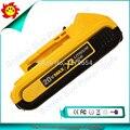 Original frete Grátis Para Dewalt 20 V 2.0Ah Max Bateria Compacta de Iões de Lítio Com Medidor De Combustível-DCB203 Usado