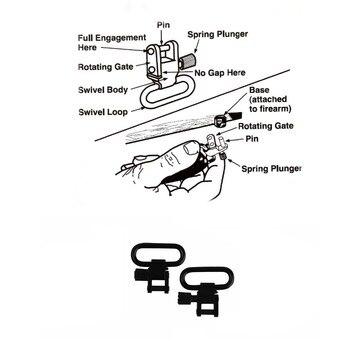 Tourbon التكتيكية الصيد ملحقات المسدس بندقية بندقية حبال بندقية حزام حزام عدم الانزلاق 62-97 سنتيمتر ث/يدور قابل للتعديل النيوبرين (1 مجموعة)