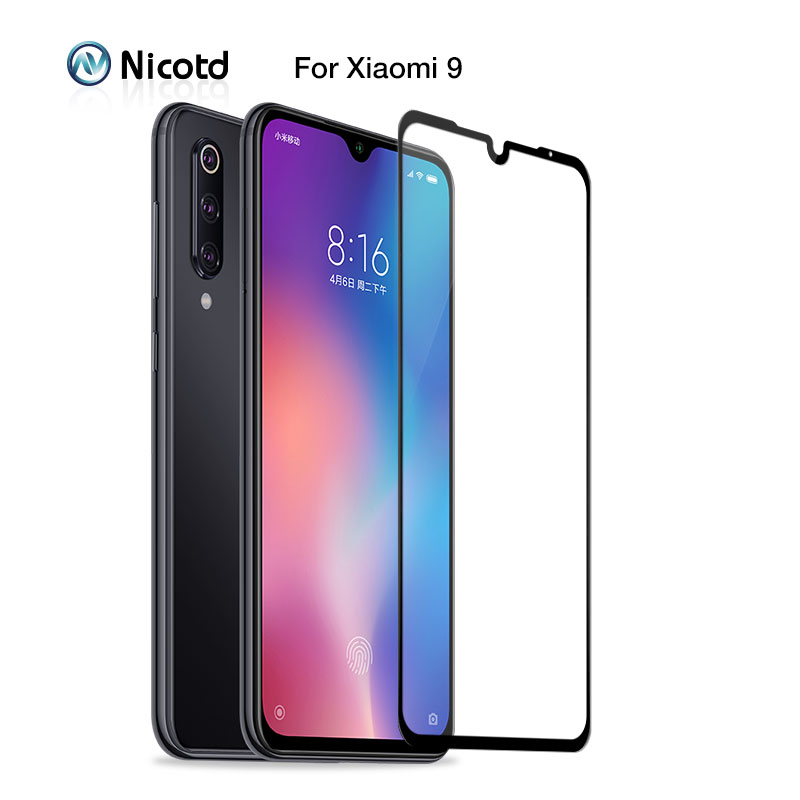 For Xiaomi 9 8 SE Lite Glass Protector Tempered Film For Redmi Note 7 Pro 4 4x 4pro Screen Protective Glass For Mi Play POCO F1
