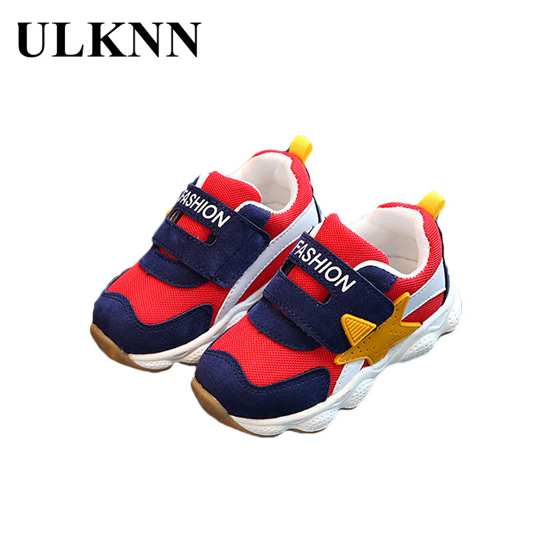 ULKNN Toddle Children s Shoes Boys Soft Running Sneakers Kids Shoes Girls  Dresses 2018 New Arrival Flat Breathable Mesh Sneakers b17c62ce51d
