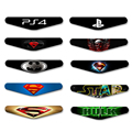 Stickers For Sony Play station 4 For PS4 controller LED Light Bar Decal PVC Sticker for PS4 Dualshock gamepad control