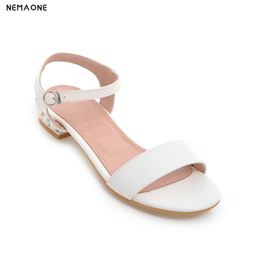 New fashion women sandals low square heels sandals woman casual shoes new women sandals low heel wedges summer casual single shoes woman sandal fashion soft sandals free shipping