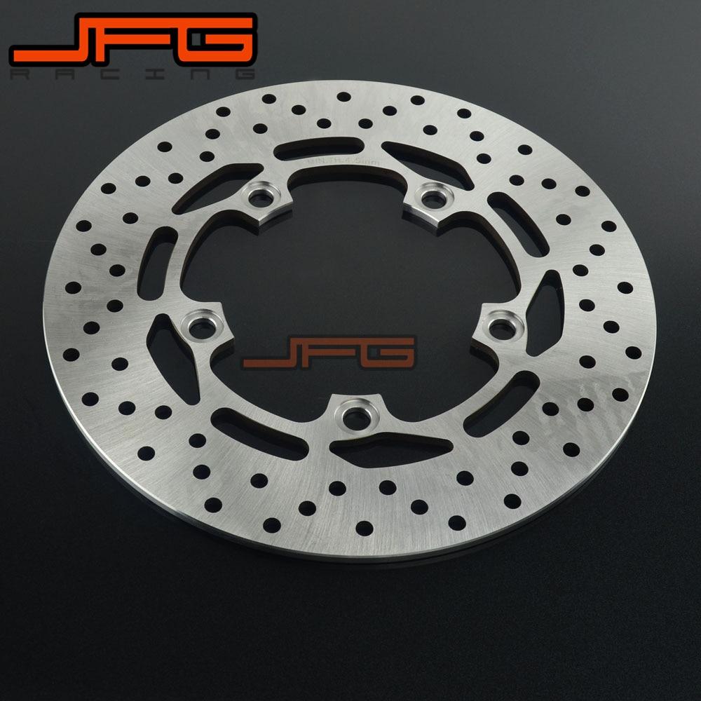 Motorcycle Outer Diameter 245mm Stainless Steel Rear Brake Disc Rotor For YAMAHA FZ6 04-08 MT03 06-11 FZ1S 06-12 FZ1N FZ6 FAZER kappa дуги безопасности для fz6 fz6