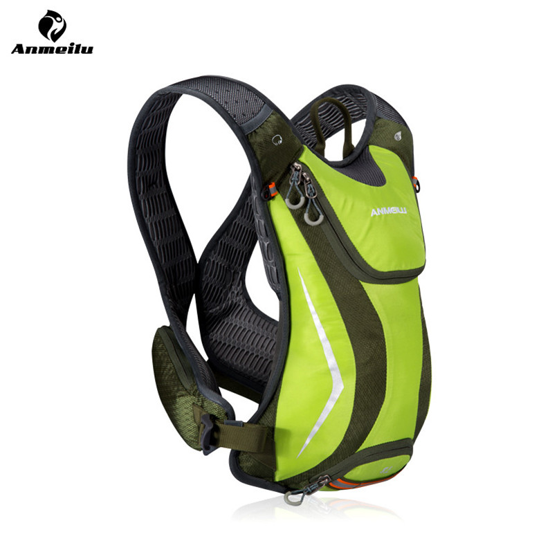 Anmeilu 5L Bike Water Bag Waterproof Nylon Bicycle Shoulder Backpack Breathable Running Cycling Rucksack Hydration Bag Mochila anmeilu 20l nylon outdoor climbing camping cycling backpack bicycle shoulder package road mountain bike bag rucksack travel bag