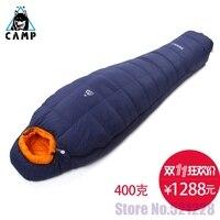 Лагерь Лагерь вниз спальный мешок открытый сверхлегкий туризм профессиональный зима мумия бархатные толстые спальные мешки