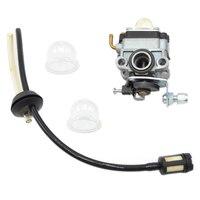 Carburetor Carb Fuel Filter Maintenance Primer Bulb Kit For Honda GX31 GX22 FG100 16100 ZM5 803