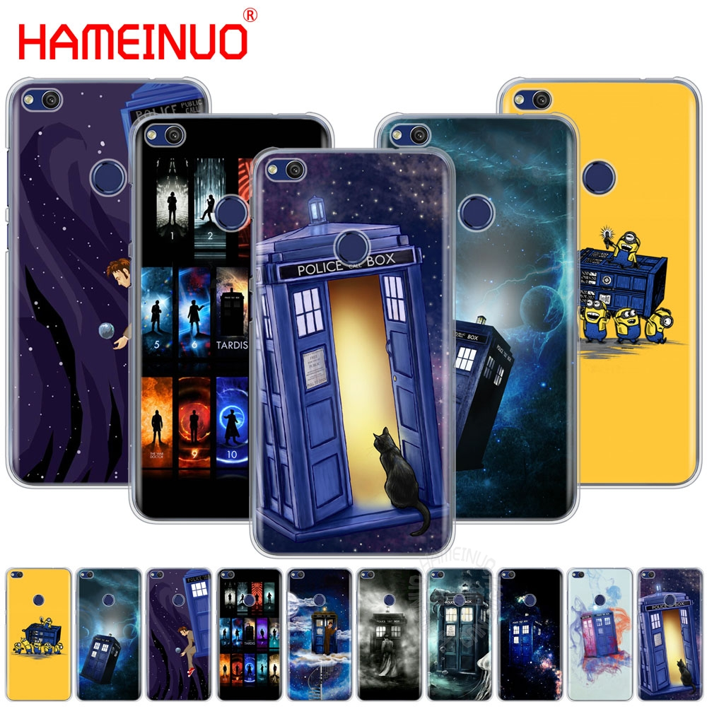 Half-wrapped Case Purposeful Hameinuo Tardis Box Doctor Who Cover Phone Case For Huawei Ascend P7 P8 P9 P10 P20 Lite Plus Pro G9 G8 G7 2017 Sophisticated Technologies Phone Bags & Cases