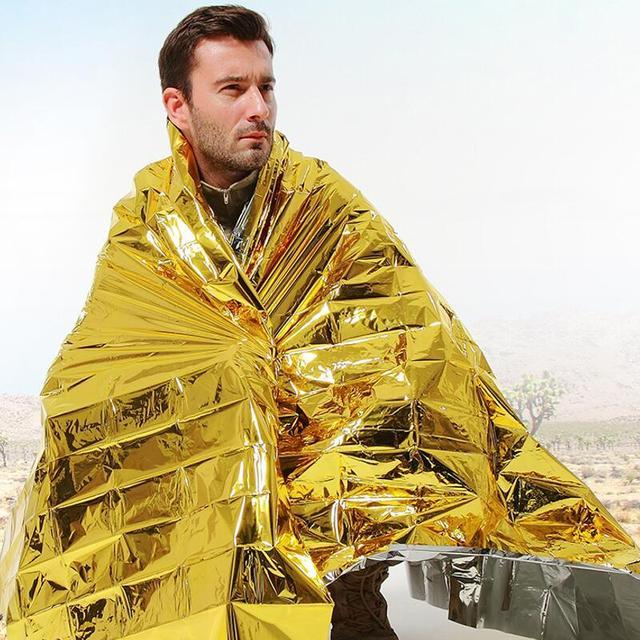 Survival Foil Blanket Camping Hunting