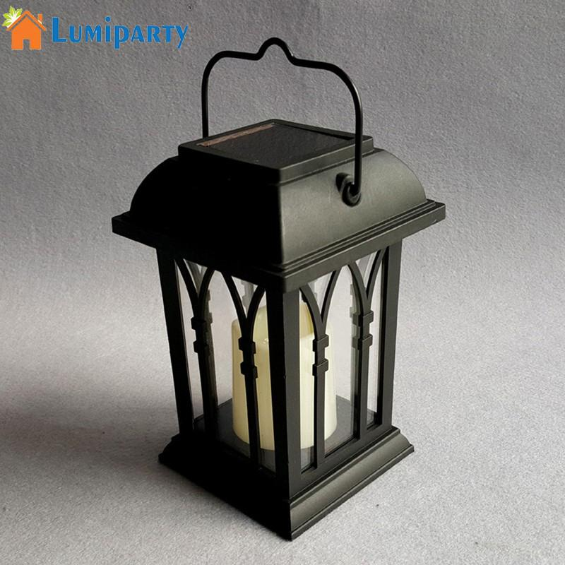 Symbol Der Marke Solar Powered Garten Landschaft Lampe Mit Kerze Wirkung Intelligente Licht Control Amorphem Silizium Nacht Licht Angenehm Im Nachgeschmack