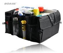 Розничная Бесплатная доставка Черный Car Boot Организатор сумка для хранения Авто Коробка для хранения многофункциональный Инструменты Организатор