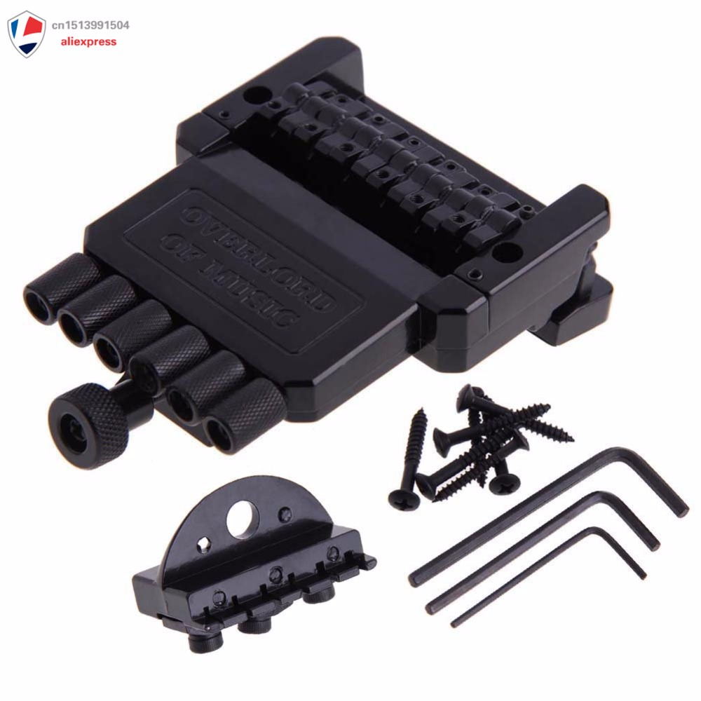 OVERLORD OF MUSIC Electric Guitar Tremolo Bridge System for Headless Guitar overlord маруяма куганэ мп3 аудиокнига том 8 скачать