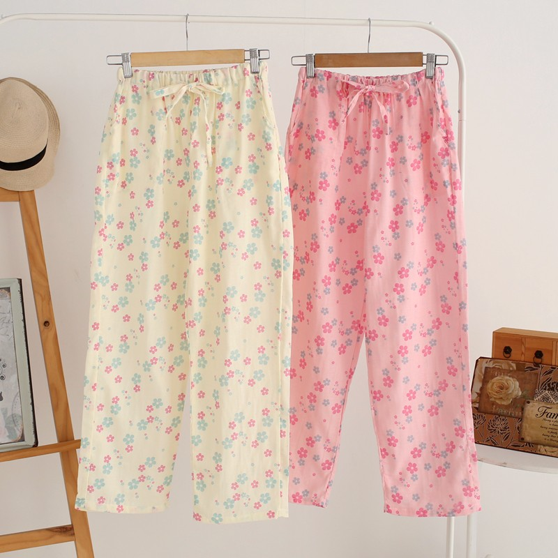 cotton lounge pants women
