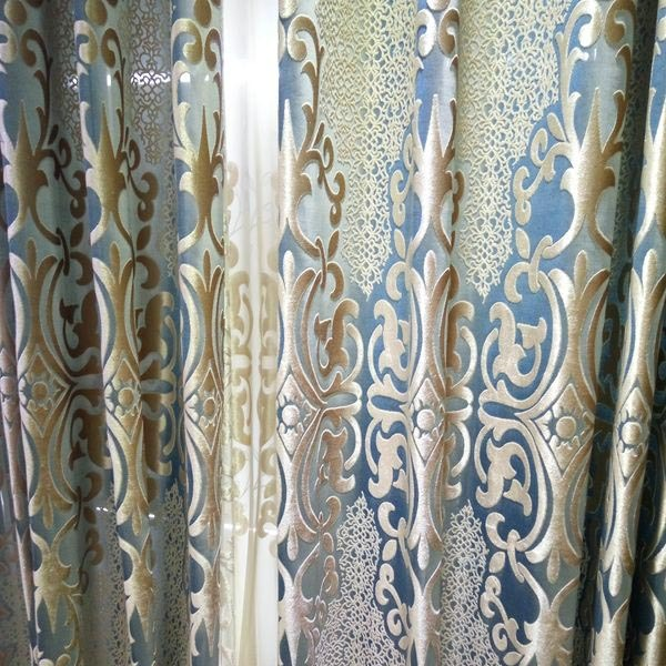 280 cm wide curtain Velvet lace fabric wholesale high quality curtain fabrics for clothing fabric only! curtains