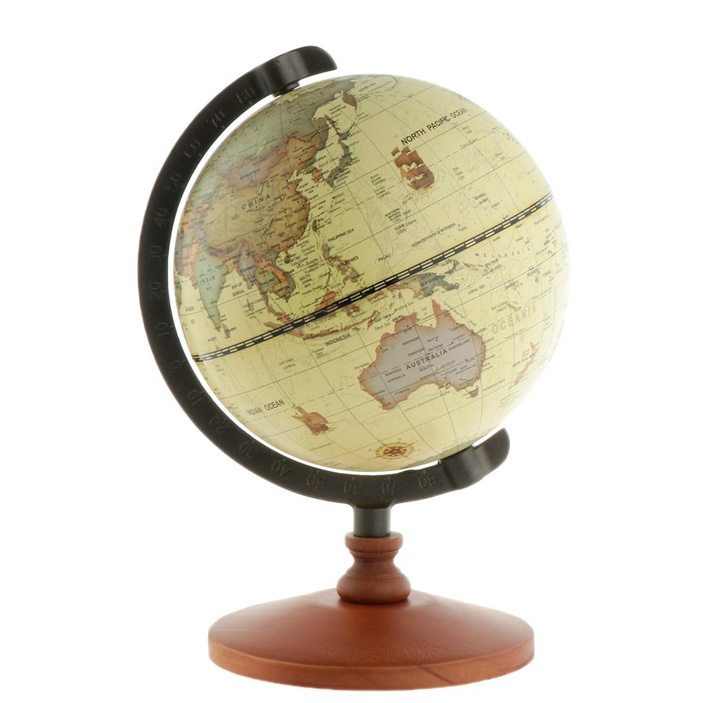 14cm Dia World Globe Constellation Map Globe For Home Table Desk Decoration Ornaments