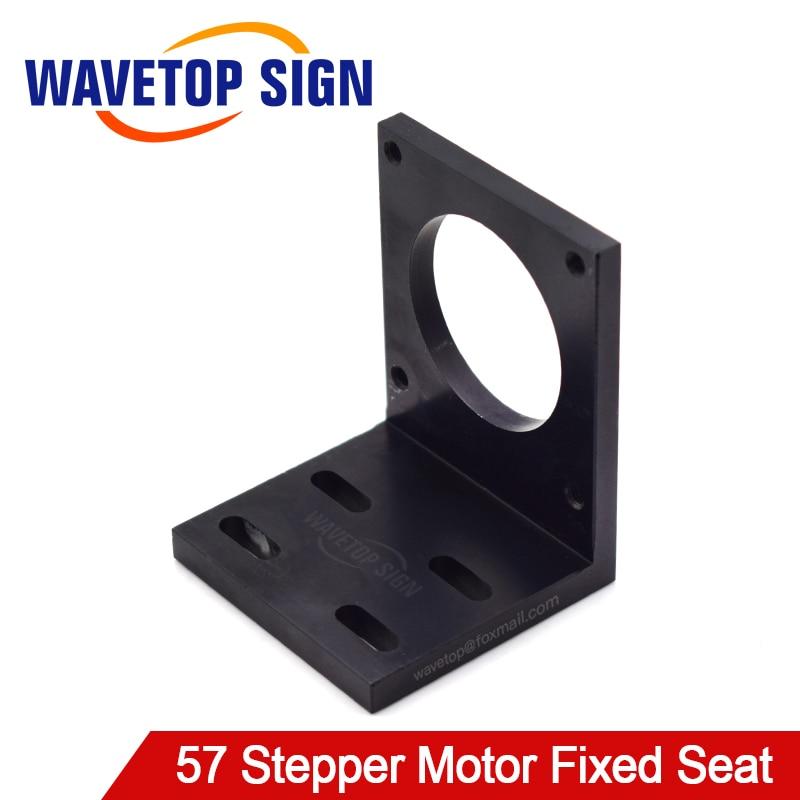 Wavetopsign Motor Base For 57 Stepper Motor Aluminum Fixed Seat Fastener Mounting Bracket Support