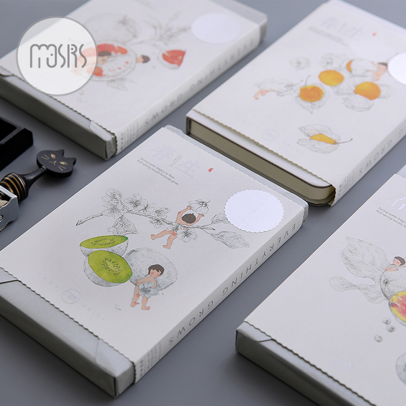 New Cute Sketchbook Drawing Notebook paper 104 sheets Notepad Diary Sketch book Office shcool supplies Gift