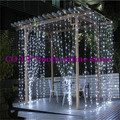 3M x 3M New Year Christmas Garlands LED Fairy String Christmas Lights Decoration Party Wedding Curtain Lights For Home