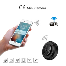 Camsoy Cookycam C6 Micro WIFI Mini Camera HD 720P With Smartphone App And Night Vision IP C1 Home Security Video Cam Camcorder camsoy c6 mini camera for baby home security wifi ip control by mobile phone with night vision hd 720p dvr cam new gadgets 2017