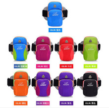NEW TANLUHU Adjustable Nylon Cycling Running Armband Bag For Mobile Phone Case Gym Sport Running Accessories 346