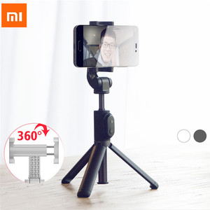 Image 1 - Xiaomi Monopod Mi Selfie Stick Bluetooth Tripod With Wireless Remote 360 Rotation Flexiable/Wired Version Android 4.3 IOS H20