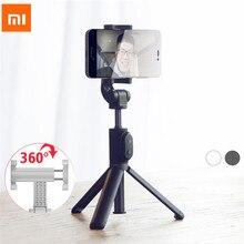 Xiaomi monopé mi selfie vara com tripé, bluetooth, sem fio, rotação 360, versão flexível/com fio, para android 4.3, ios, h20