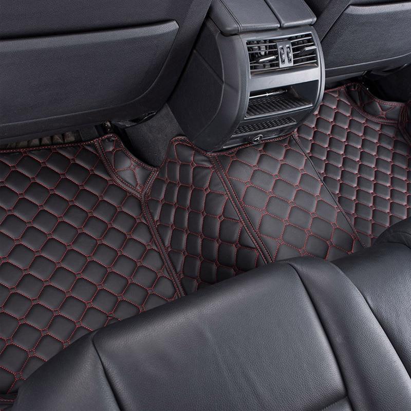 Пользовательские автомобильные коврики для Citroen C2 C3 XR C4 Пикассо C4L C5 C6 C Quatre C Elysee C Triomphe стайлинга автомобилей коврики Ковры