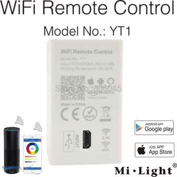 Milight YT1 Remote Controller Amazon Alexa Voice Control WiFi Wireless &  Smartphone APP Control work with Mi.light 2.4G Series - DISCOUNT ITEM  15% OFF All Category