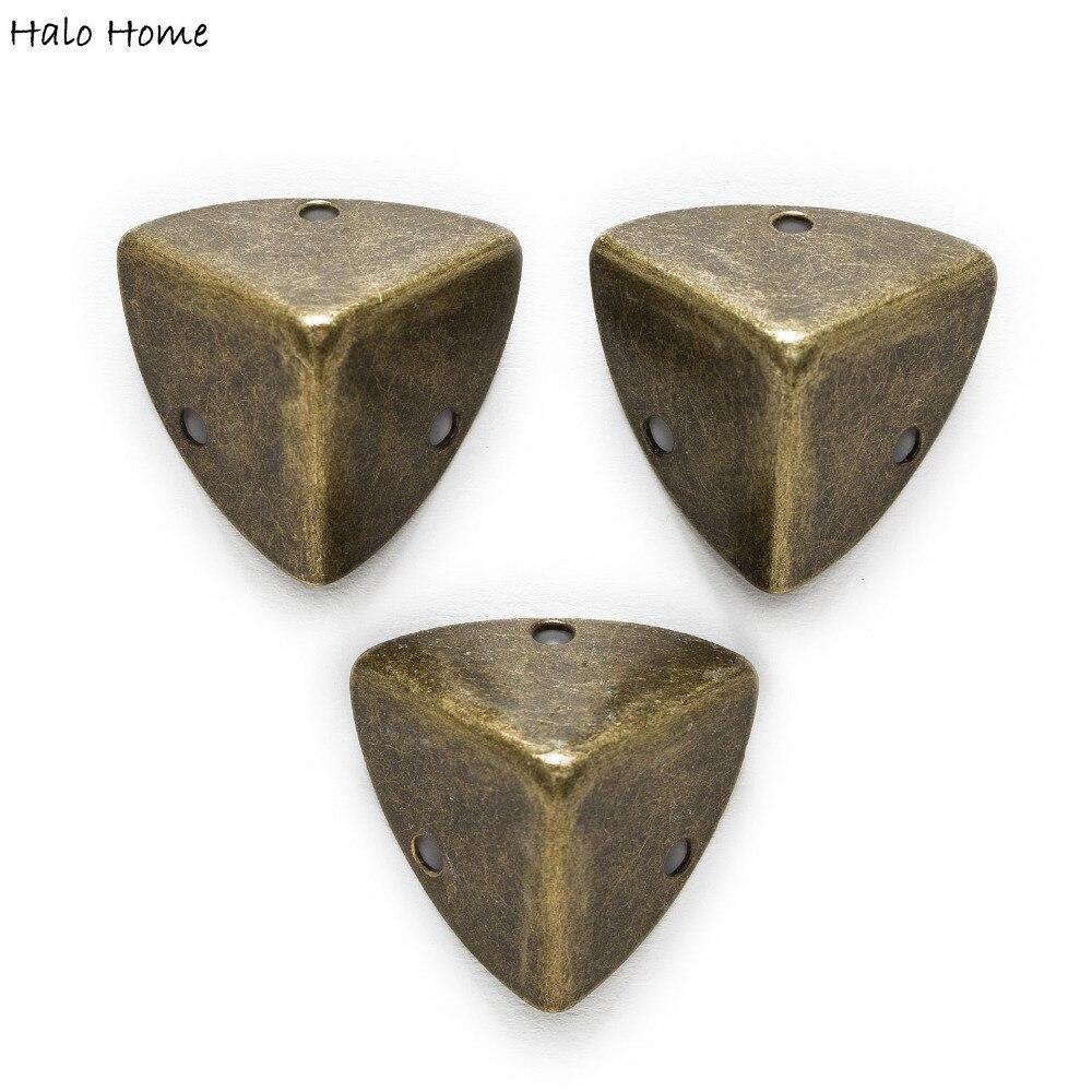 8 Piece Antique Bronze Plated 3 Holes Lu