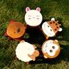 Super Cute Cartoon Animals Children S Chair Creative Pure Solid Wood Children S Chair Household Easy
