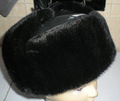 Mink Lei Feng Bomber Hats Cap Gorgeous#2307