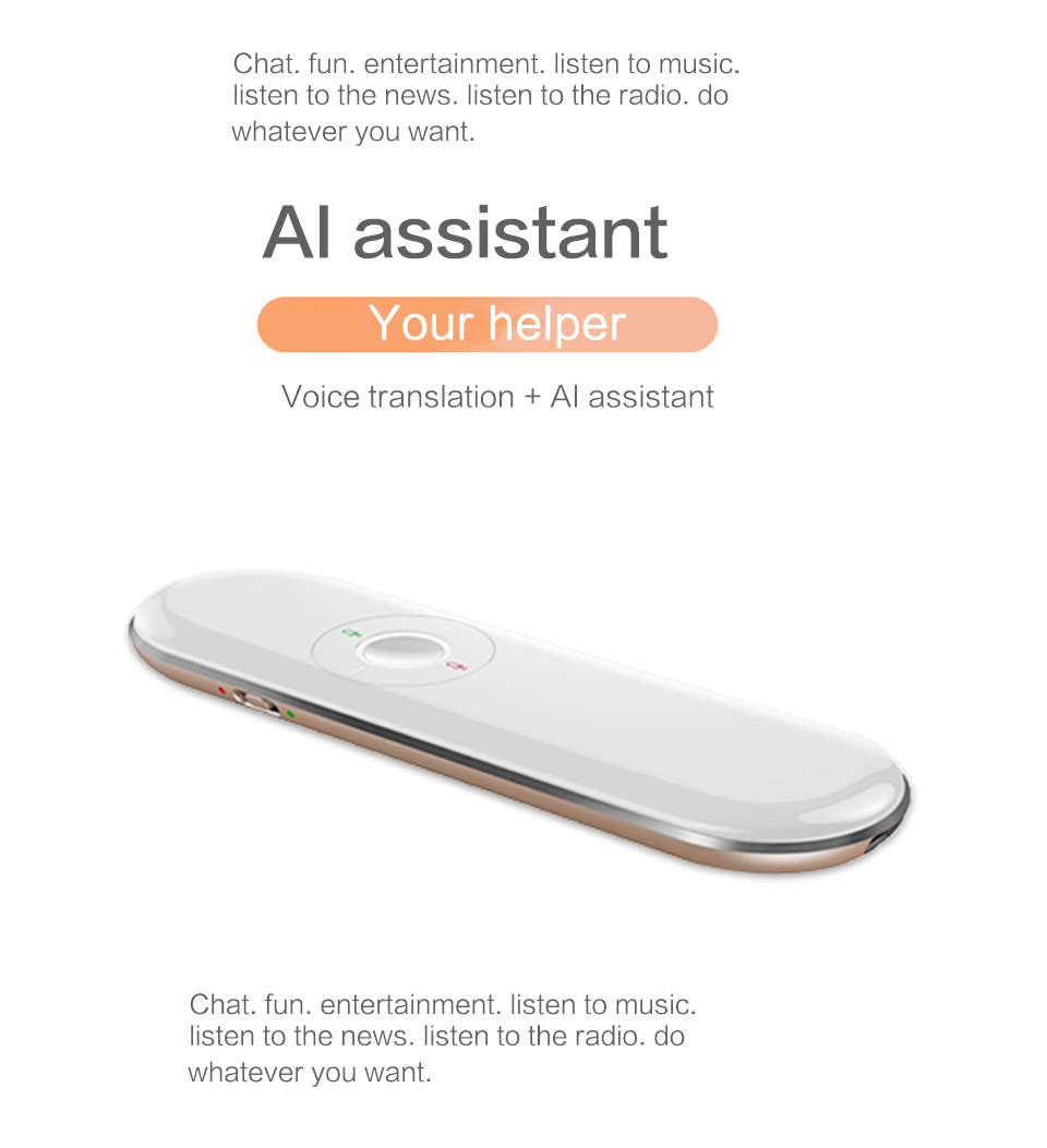 T9 Portable and Wireless Pocket Language Translator with Text and Voice Translating System for Multiple Language Suitable for Travel and Meeting 9