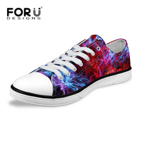 Multicolor Women Canvas Backpack Stylish Galaxy Star Universe Space Flat Shoes Casual Female Girls Walking Shoes