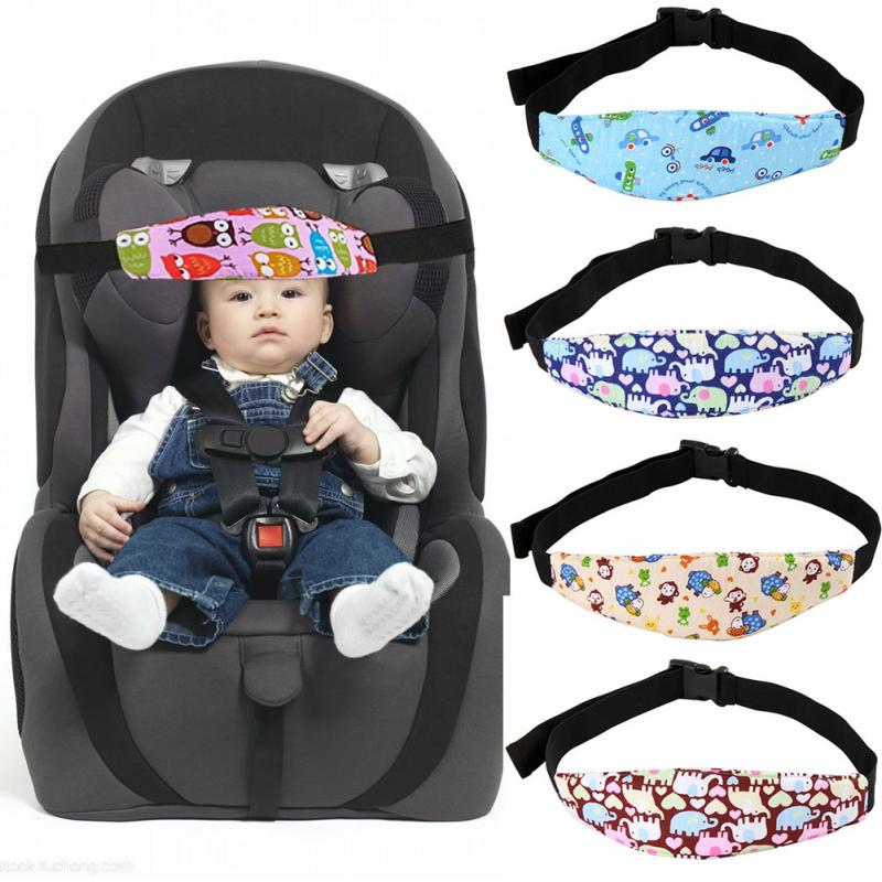 Baby Stroller Safety Sleeping Fastening Strap Fastening Halter Playpens Elastic Fastening Strap Seat Safety Head Support #15