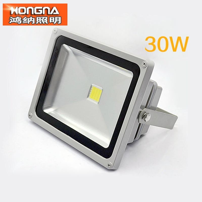 Free Shipping AC85-265V 30W Floodlight RGB LED Floodlights IP68 Waterproof 100-110 lm/W CE & RoHS 2 Years Warranty цена и фото