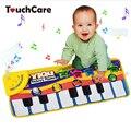 Фортепианная Музыка Игра Коврики Сенсорный Тип Электронных Мат Многофункциональный Ребенка Играть Ползать Коврик Звуки Животных Поет Игрушки для Детей Подарок