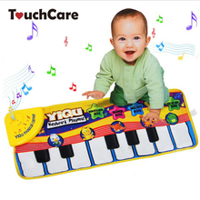 Sings piano sounds crawling mats type multifunction electronic music mat animal