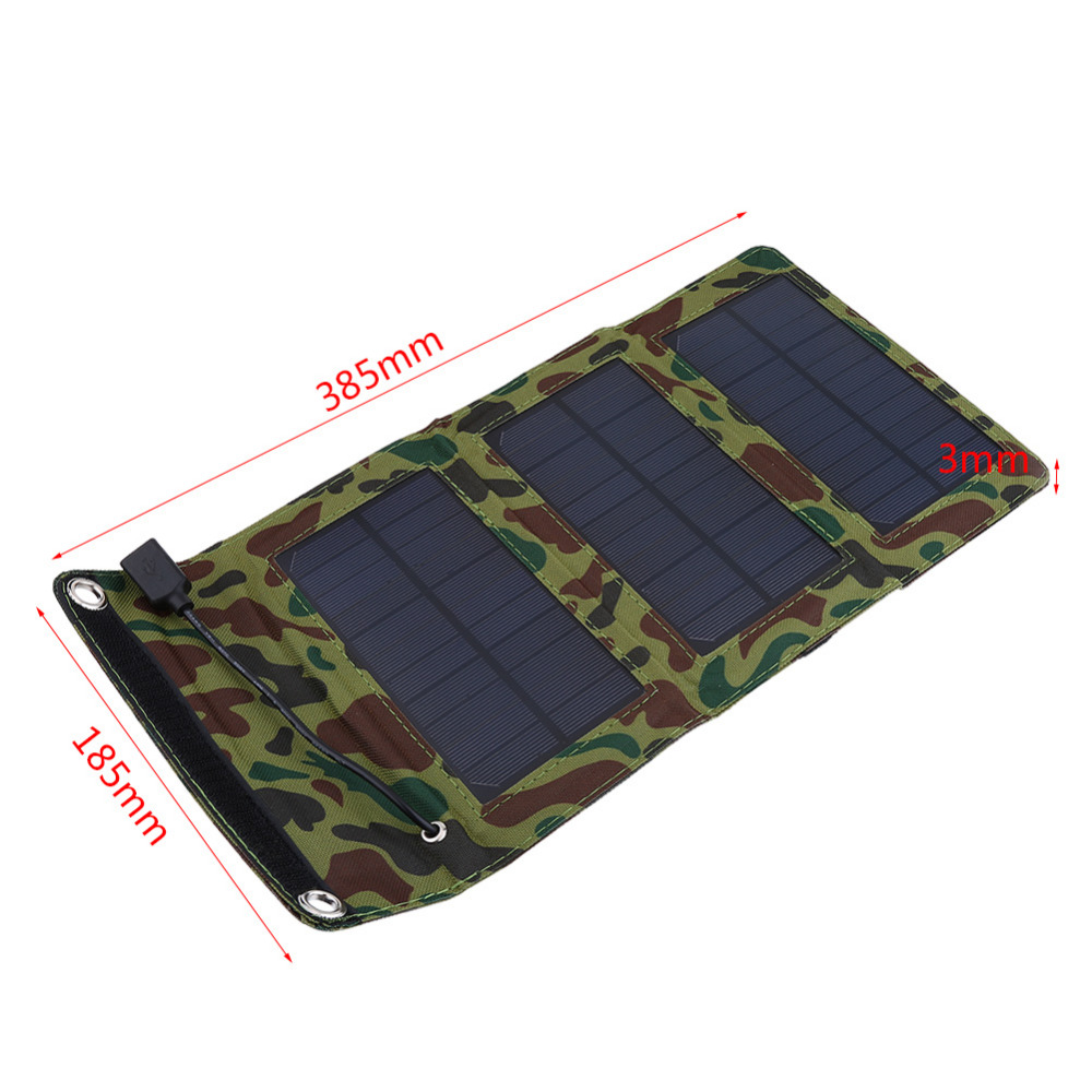 Portable Solar Panel Hiking Accessory