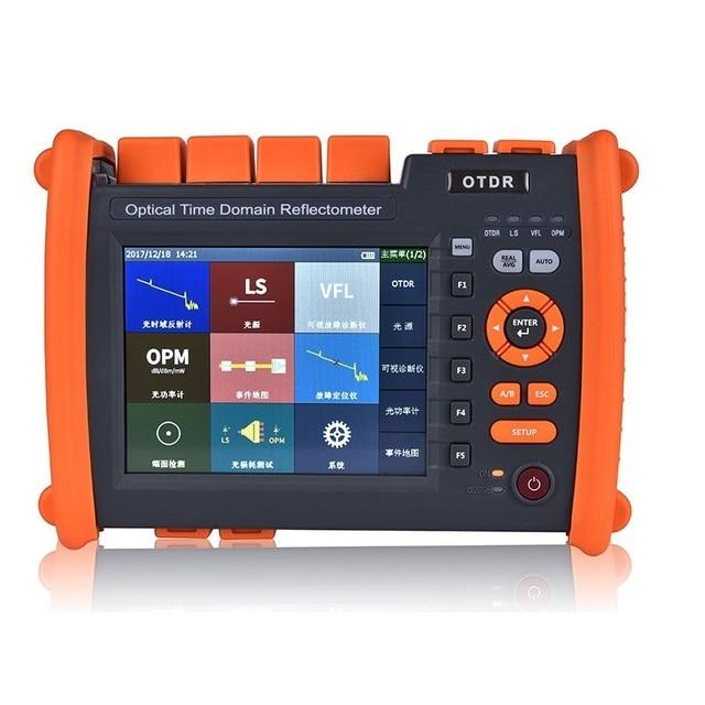 NK5600 1310/1550nm 32/30dB SM 光ファイバ OTDR テスター Vfl と OPM 光源 Functionn